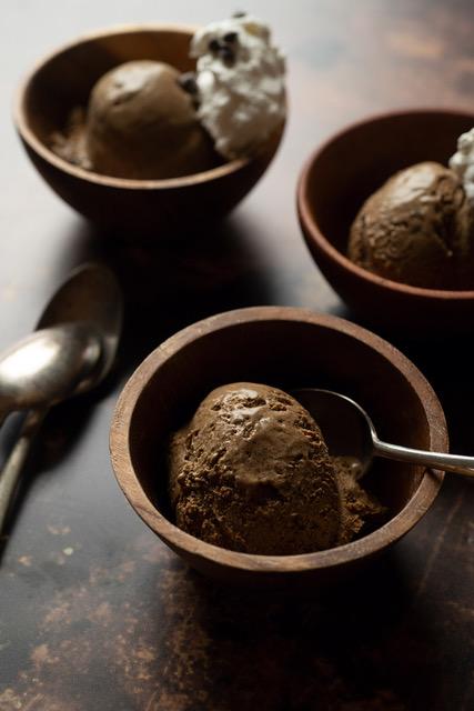 Dandelion ice cream Ellen Zachos