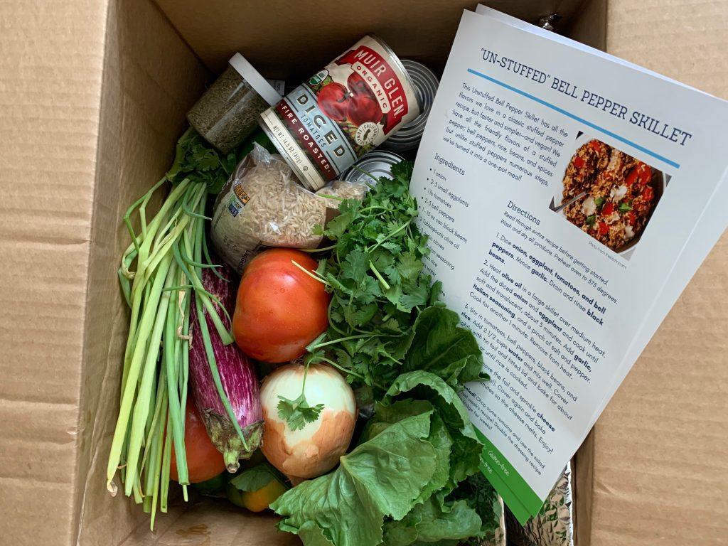 CSA box Appetite for Change