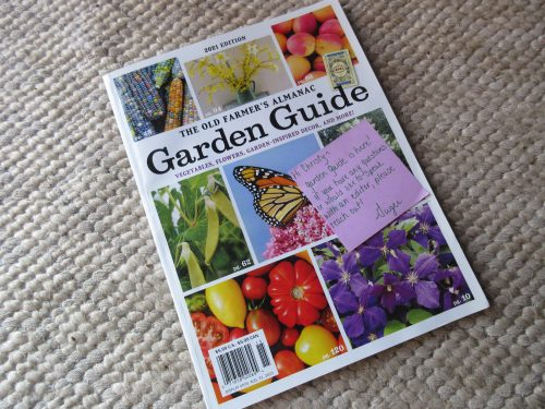 Read more about the article Review: The Old Farmer's Almanac 2021 Garden Guide