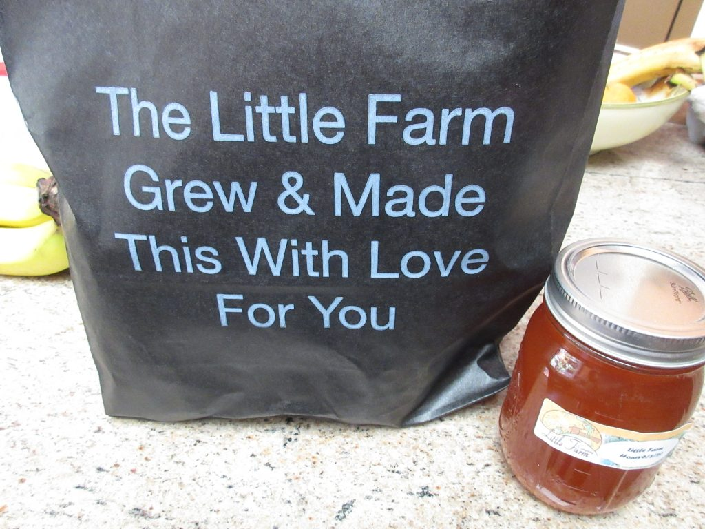 Goodie bag from The Little Farm